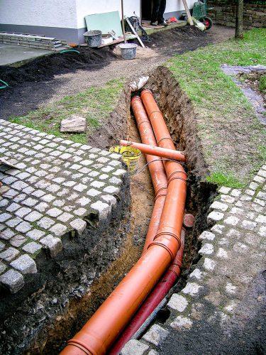 Kanal, Abwasser, Regenwasser, Zisternen, Abdichtungen & Drainage | Wasser im Garten